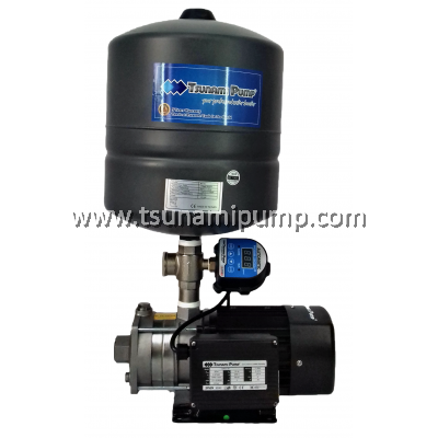 CMS2-30iPT Stainless Steel Intelligent Home Water Pump with Pressure Tank (0.5HP)