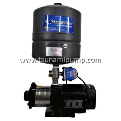 CMH4-40-iPT Home Water Pump with Pressure Tank (1HP)