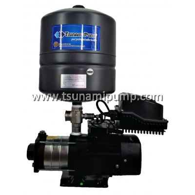 CMH4-40T-EQ(PT) Home Water Pump with Inventer + Tank (1HP)