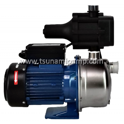 BJZ100-K Stainless Steel Self-Priming Jet Pump (1HP)