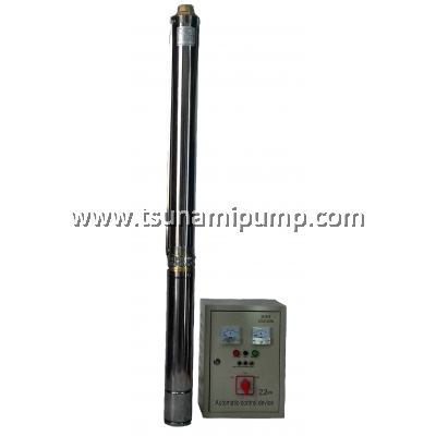 """R95-BF-11 Deep Well Stainless Steel Submersible Pump with Automatic Control Device (1.5"""" outlet)"""