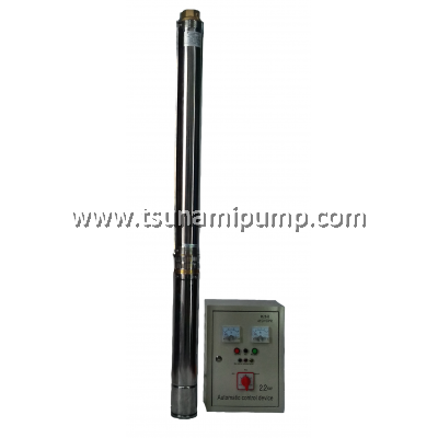 "R95-MA-10 Deep Well Stainless Steel Submersible Pump with Automatic Control Device (2"" outlet)"