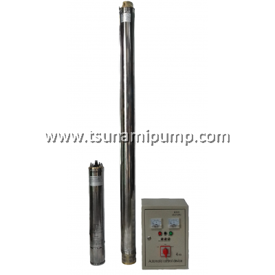 "R95-MA-17 Deep Well Stainless Steel Submersible Pump with Automatic Control Device (2"" outlet)"