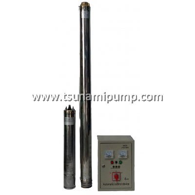 "R95-BF-32 Deep Well Stainless Steel Submersible Pump with Automatic Control Device (1.5"" outlet)"