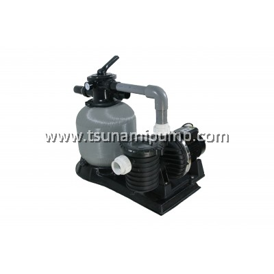 SCPB100+iP-TM400+Base - Swimming Pool Pump with Filter Set