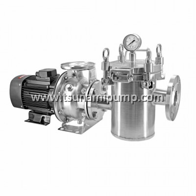 TCA100-80-160/11T Stainless Steel Centrifugal Pump with Strainer